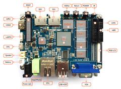 S5P4418 (ARM Cortex-A9架构) ARM工控主板
