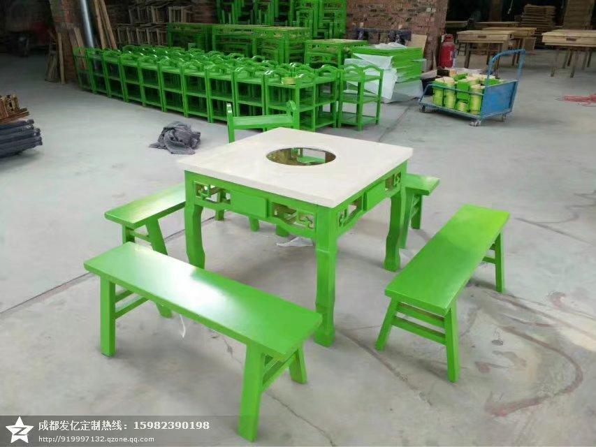 实木火锅桌火锅桌定做实木火锅桌价格火锅桌厂家