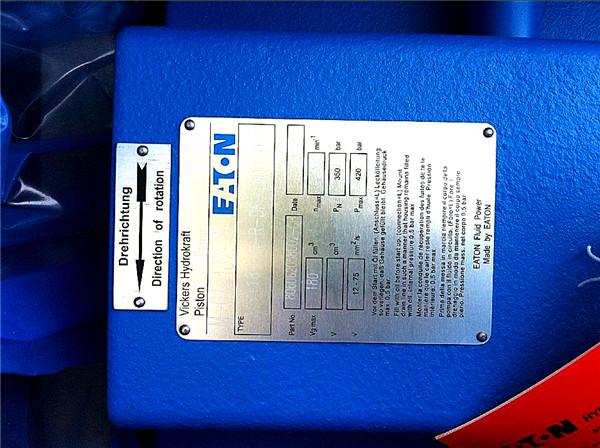 供应原装VICKERS威格士柱塞泵PVB10-RS-32-C-11