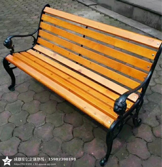 厂家长期定制公园椅子实木公园椅学校休闲椅户外休闲椅
