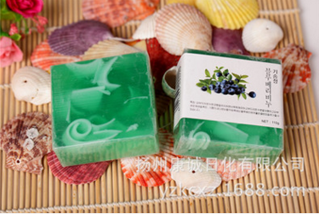 奇松110克花芯美容保湿手工香皂 香皂加工