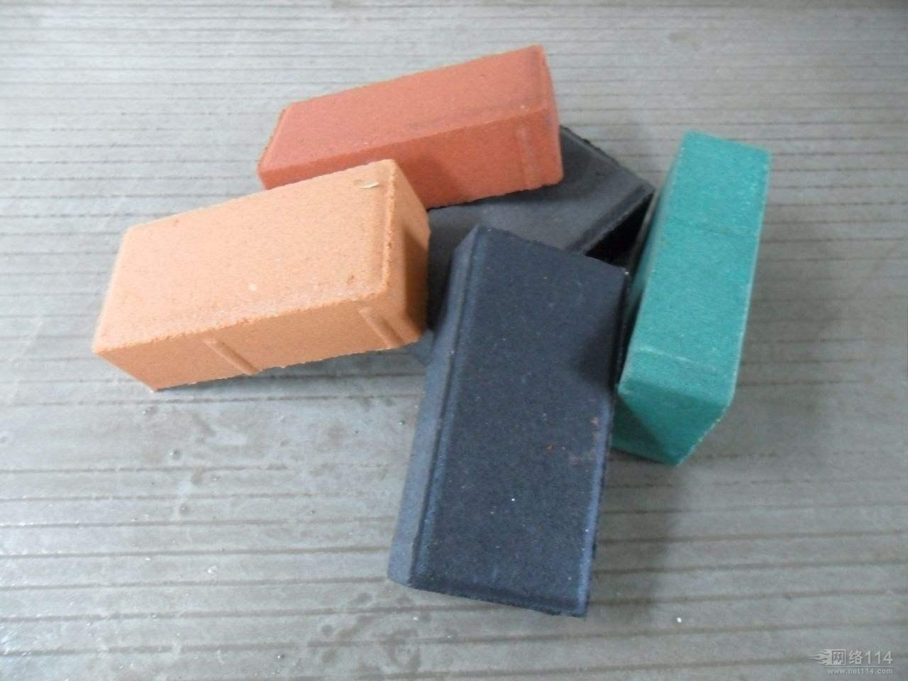 汝南彩砖|荷兰砖|广场砖|植草砖|哪里有卖彩砖