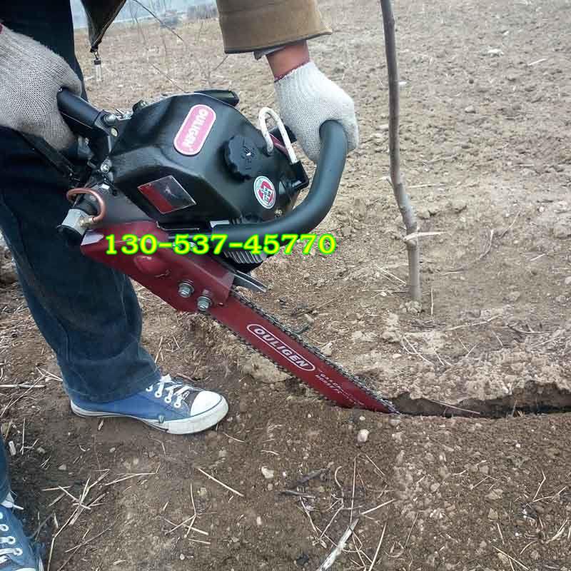 多功能挖树机 手提式汽油移栽机 挖树机视频