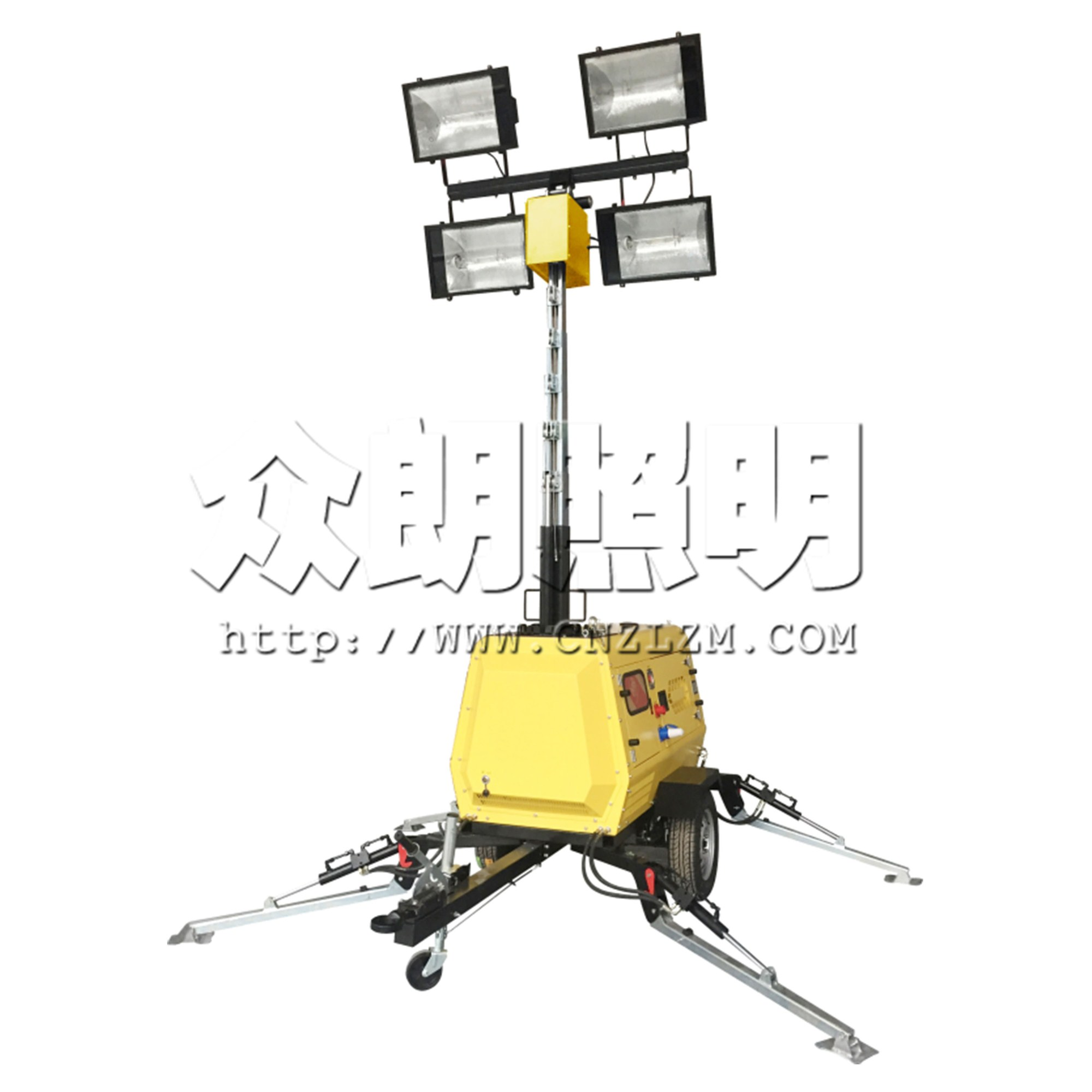 SFW6130B大功率升降灯塔 SFW6130B移动照明灯塔 全方位照明灯塔