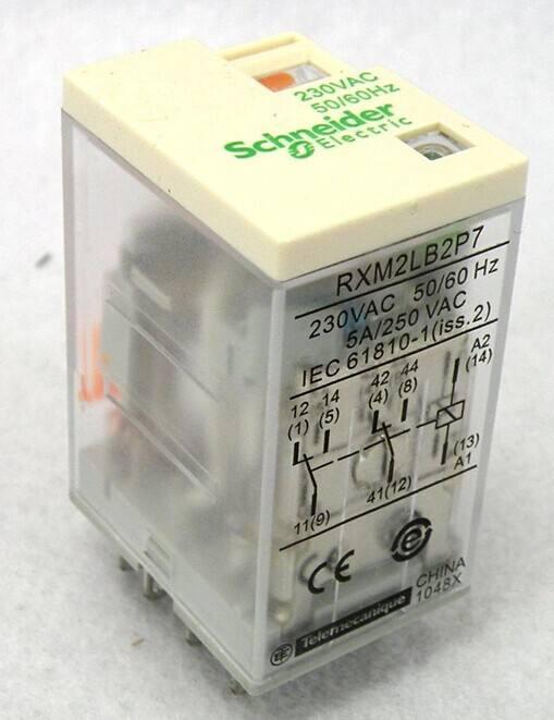 施耐德RXM2AB2BD中间继电器深圳授权特约经销商