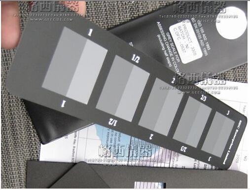 SDC A02 ISO标准褪色灰卡标准变色灰尺色牢度测试