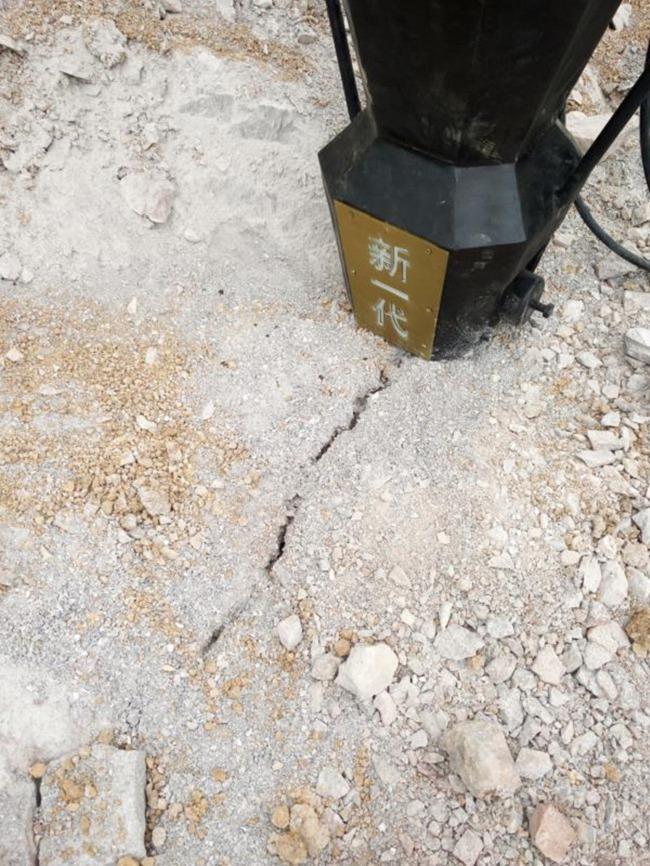 渭南土石方工程坚硬岩石破碎开山机厂家供应