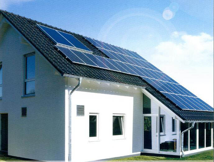 山东华春太阳能发电系统――咱家的屋顶能赚钱