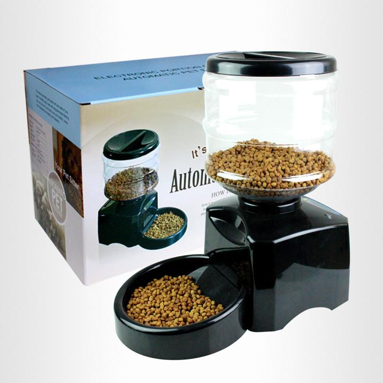 5.5L中容量宠物自动喂食器
