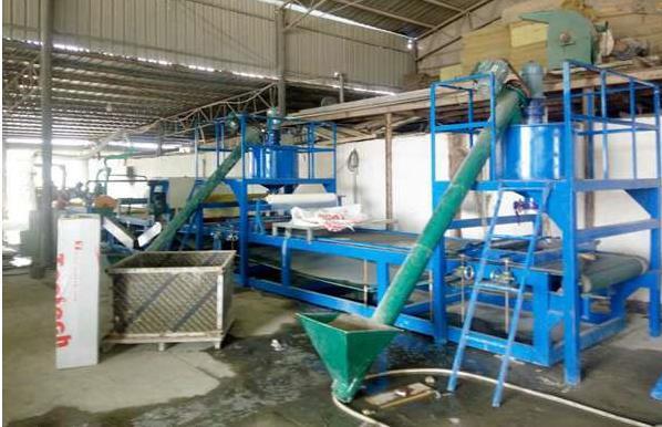 砂浆复合岩棉板设备嘉陵网格布岩棉复合板设备厂家直销热线13932608168