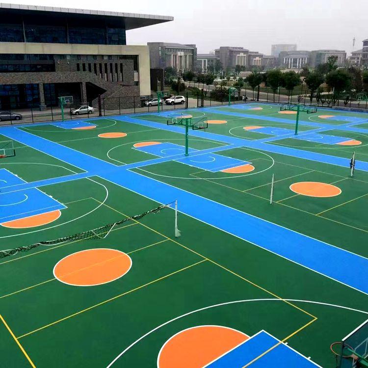 惠州旧球场翻新、丙烯酸篮球场材料manbetx登陆、篮球场地面改造工程