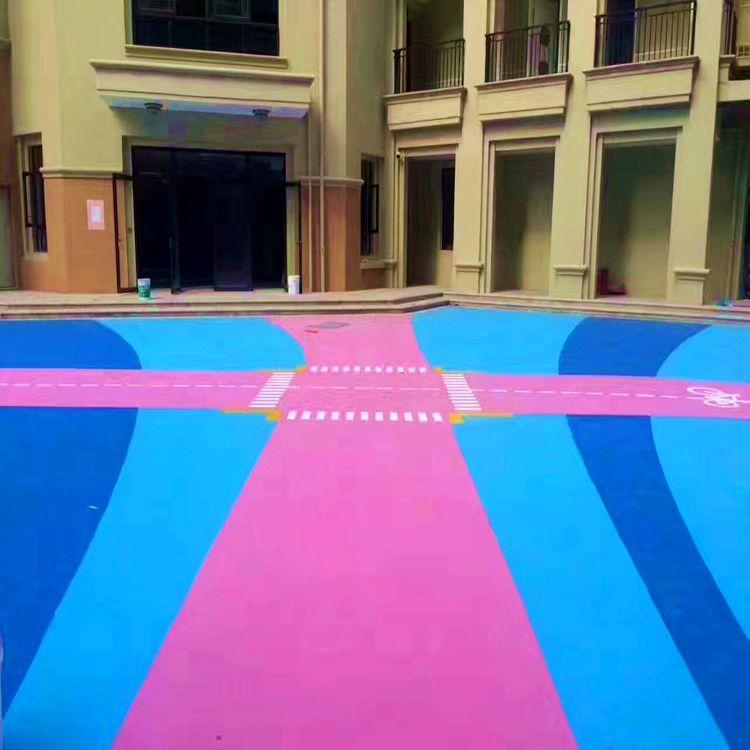 惠州EPDM跑道铺设、幼儿园跑道施工、学校彩色EPDM塑胶跑道施工
