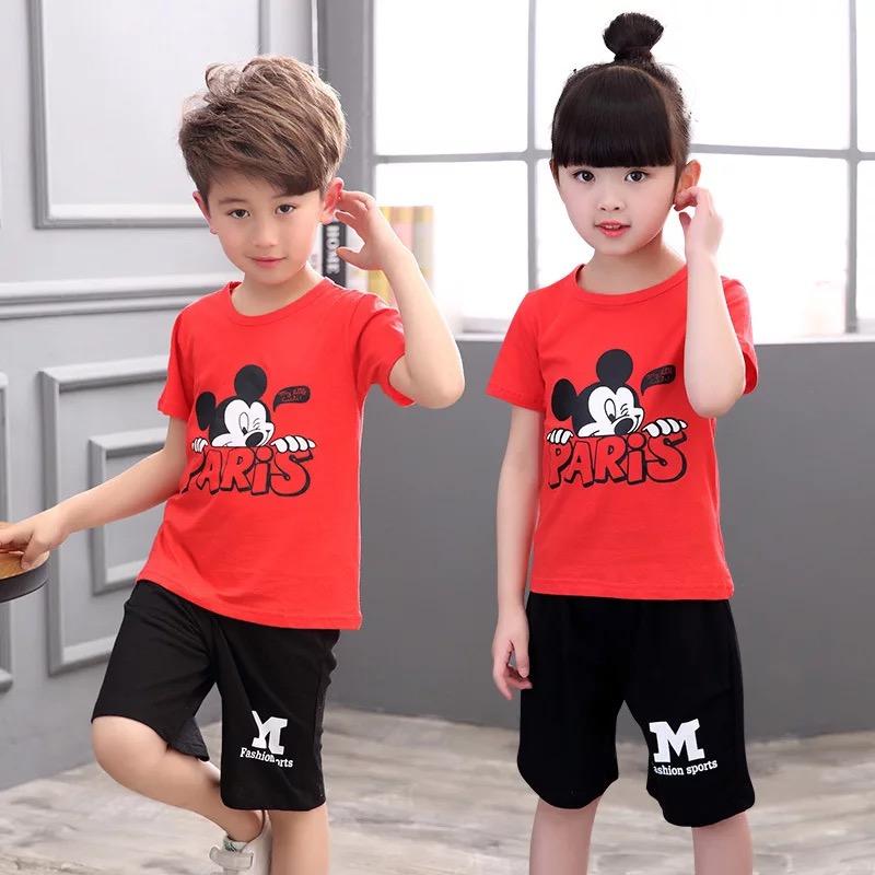 便宜夏季儿童服装批发厂家摆地摊爆款卡通短袖T恤3元批发