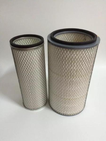 供应上柴空气滤芯K2442柴油发电机组空气滤清器6135 12V135