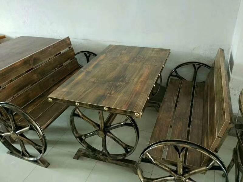 主题餐厅桌椅、软包餐桌椅、咖啡厅桌椅、快餐桌椅厂家