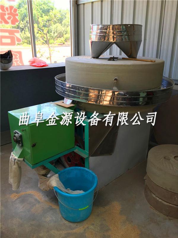 漳州小型电动石磨面粉机价格肠粉米浆电动石磨