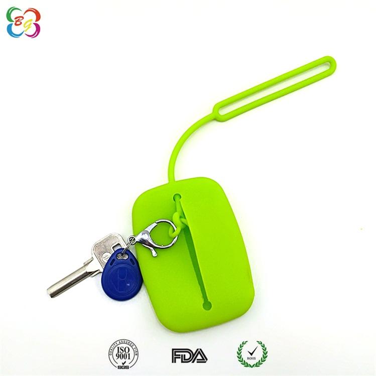 浙江博高硅胶制品厂家批发,简约时尚硅胶钥匙包供应 有现模