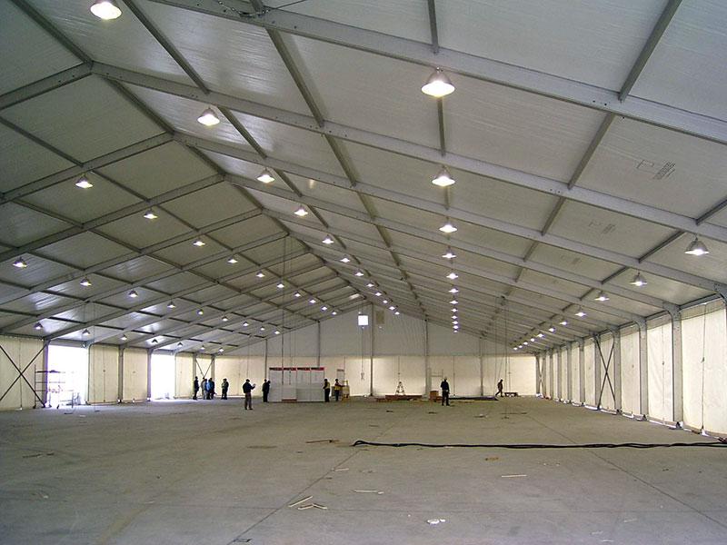高山篷房制造公司专业订做仓储篷房-铝合金仓储篷房寿命