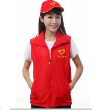 志愿者广告衫体恤衫文化衫马甲背心帽子