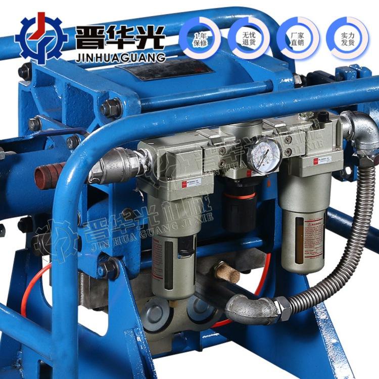 河北邢台2ZBQ707气动注浆泵矿用马丽散气动注浆机