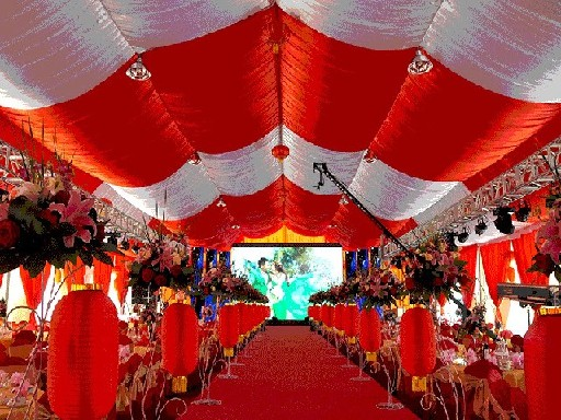 沈阳地区品质好的婚庆篷房——沈阳婚礼篷房