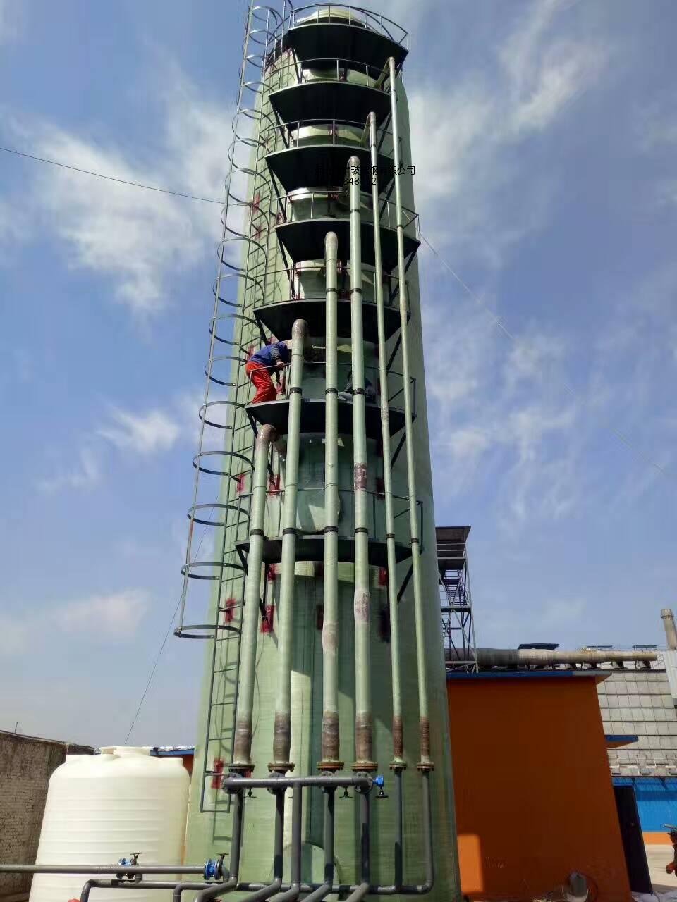 上等锅炉脱硫塔河北盛润玻璃钢脱硫塔供应-抢手的玻璃钢脱硫塔