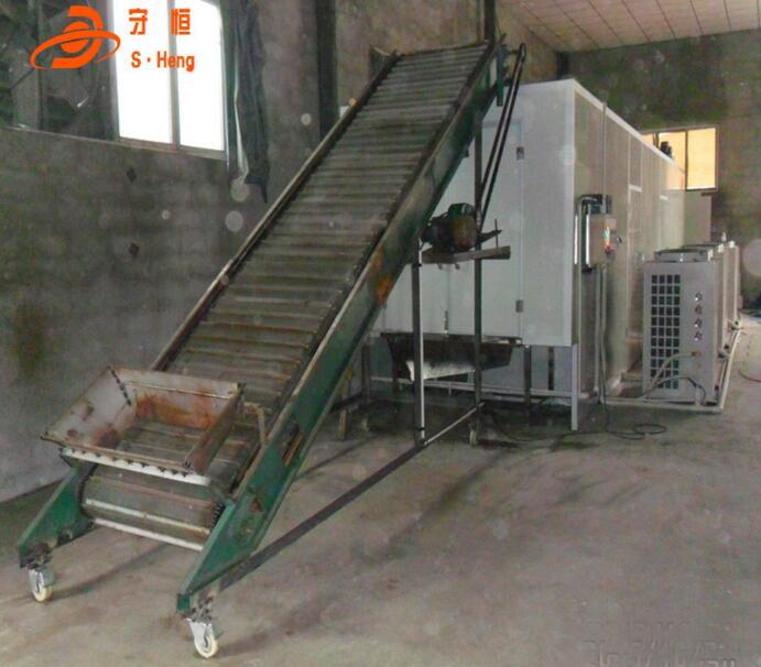 大型节能洋葱烘干设备 多层网带式洋葱脱水干燥设备