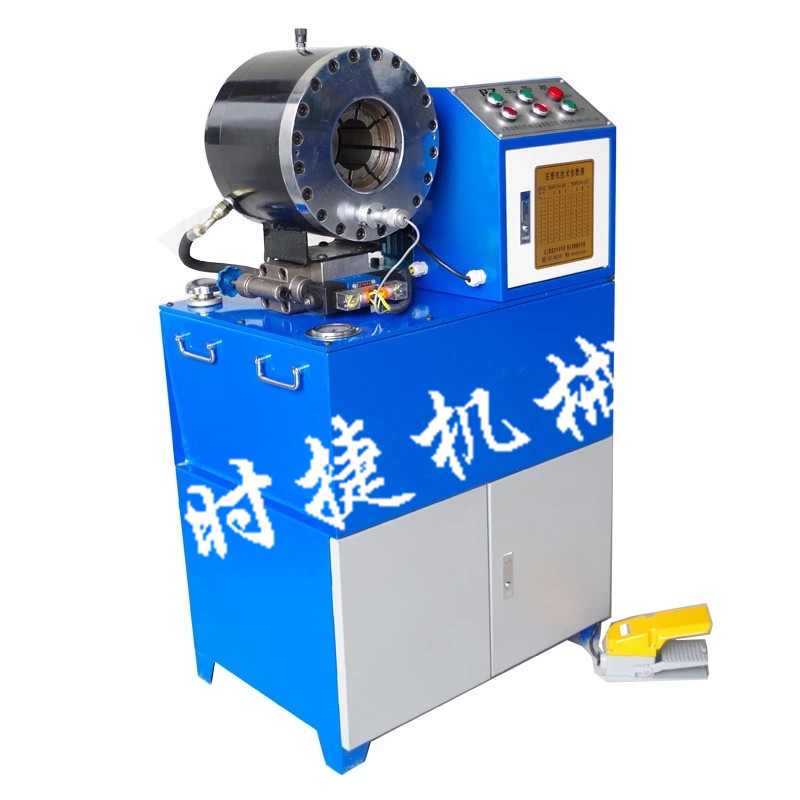 河南郑州供应压管机扣管机 全自动胶管扣压机价格 青青青免费视频在线直销压管机
