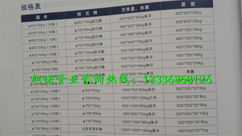 海南450*750铸铁雨水篦子市场行情