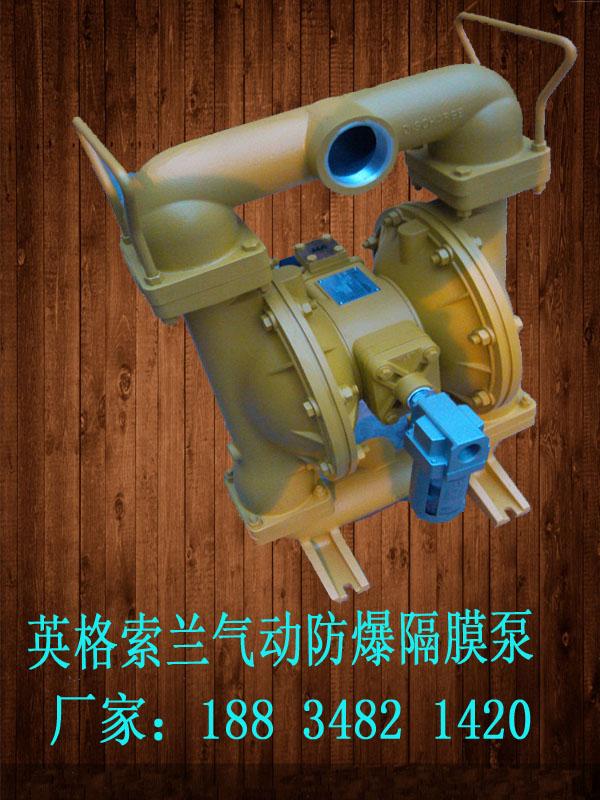 矿用江西九江废水处理隔膜泵生产厂家供应