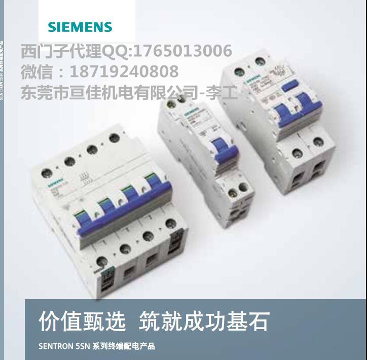 西门子小开/低压断路器5SN6 2P C32A 5SN6 2P C25A 5SN6 2P C20A