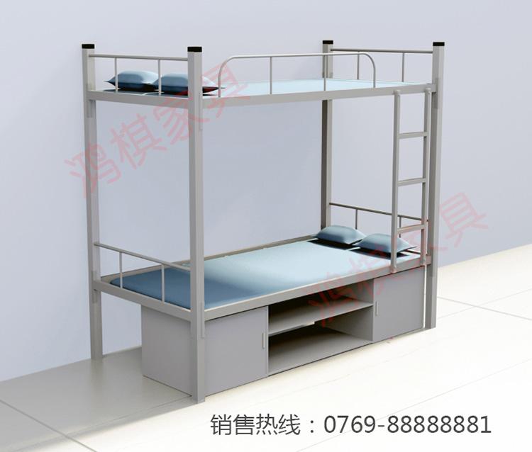 清远铁床厂家定制上下铺铁床宿舍公寓床