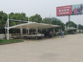 南漳安装膜结构180一平停车棚及回收停车棚钢结构abc1234
