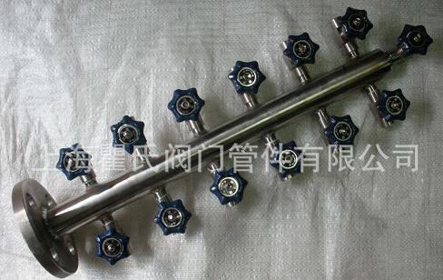 304不锈钢空气分配器,气源分配器