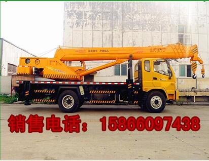 林周县16吨吊车福田140汽车吊车可分期
