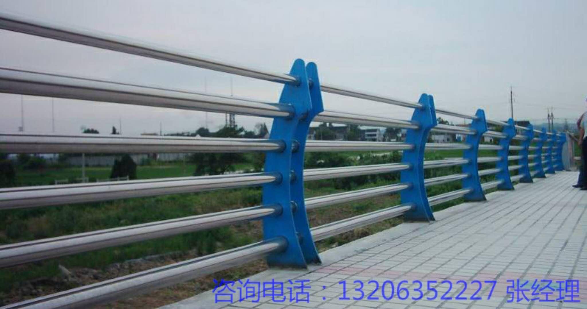 彭阳县不锈钢复合管河道护栏安装方法
