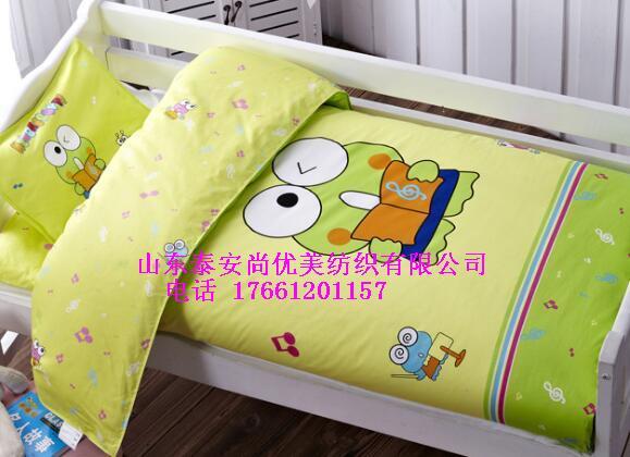 幼儿园床上用品 棉花被manbetx登陆直供幼儿园 品质保障
