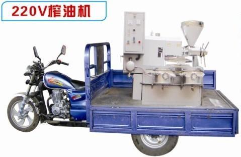 小型移动榨油机