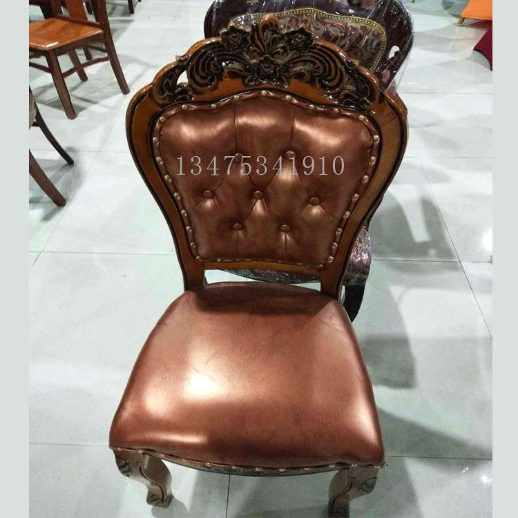 实木桌椅白茬厂家直销欧式商务办公酒店桌椅白茬大花头软包椅白茬主题餐厅桌椅白茬
