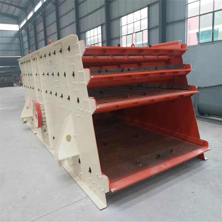 煤块筛分过滤机 石料多层分选机 筛煤机大型振动筛