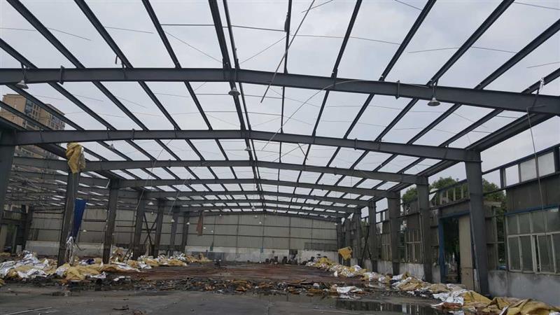 吉林省钢结构车间回收,旧钢结构厂房,现款结算
