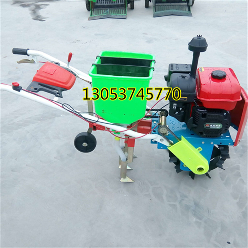 杂粮专用播种机 高质量汽油精播机