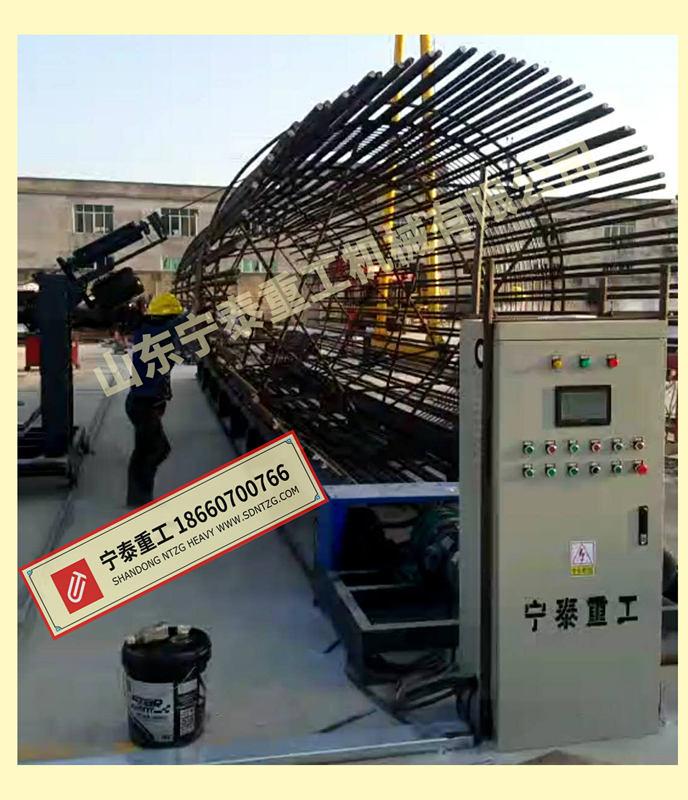 数控钢筋笼缠绕机、钢筋笼成型机,高效、免检