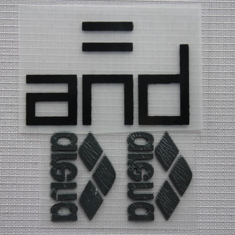 热转印立体商标 3D硅胶立体转印标