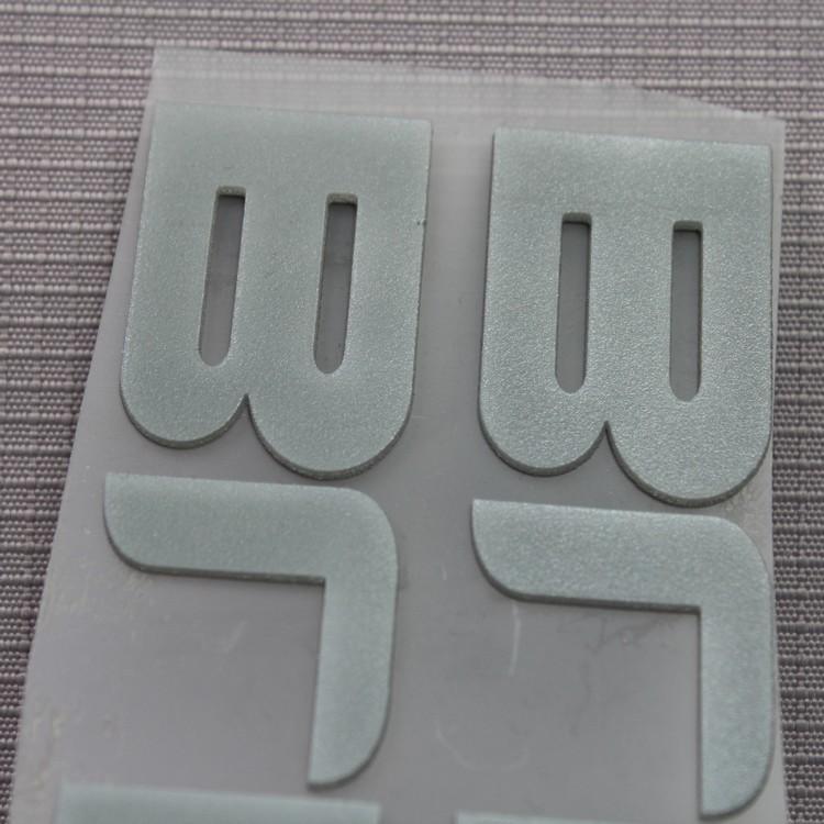 专业3D硅胶立体转印标 鞋子立体烫标 价格实惠