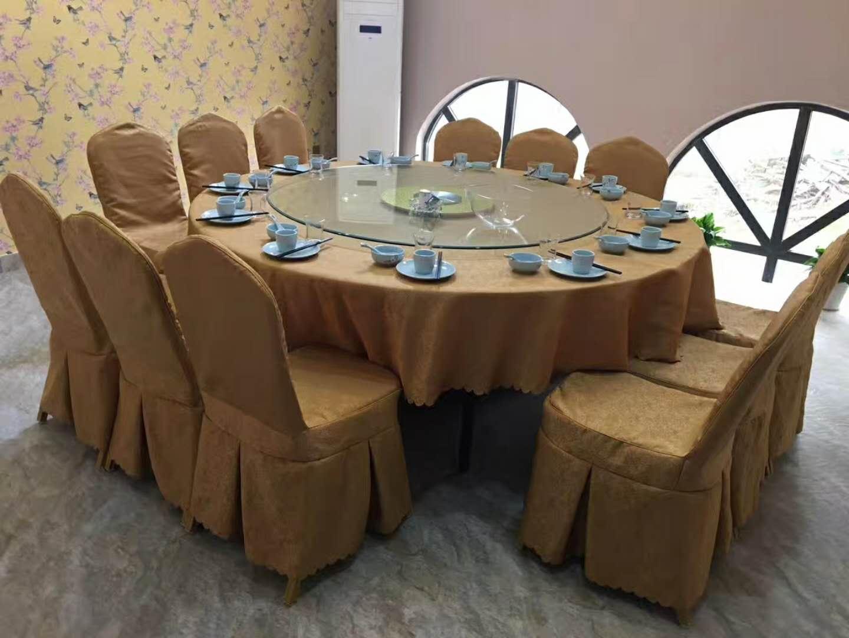椅套椅套工装大堂台布现代空间大厅奢华时尚的布草