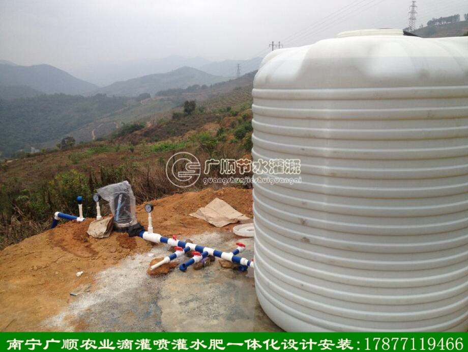 南宁广顺灌溉设备适应广西山地滴灌水肥一体化使用