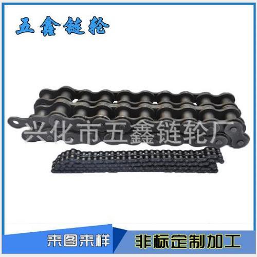 传动链条/双排不锈钢链条/兴化市五鑫链轮厂