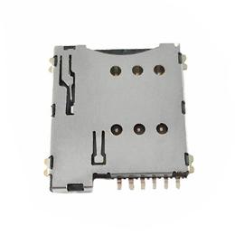 MICRFO 6PIN/6+1SIM卡座自弹式厂家现货供应