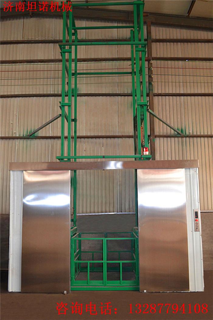 东营车间货物举升机哪有做的坦诺厂房液压升降货梯厂家